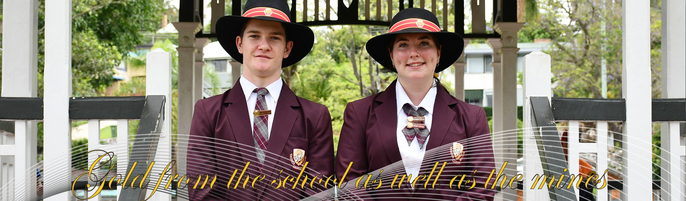 Gympie State High School students